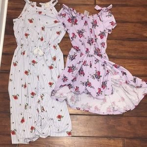 Other - Girls size 7/8 rompers